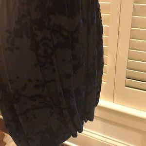 Dolce Vita Dresses - Dolce Vita black dress w dark navy velvet detail